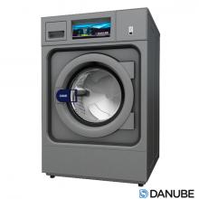 Laveuse Essoreuse laverie DANUBE WPR10, à cuve suspendue et super essorage.