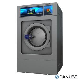 DANUBE WED14 - Laveuse Essoreuse 14 KG Professionnelle, Cuve suspendue, Super essorage.