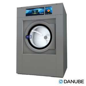 DANUBE WED27 - Laveuse Essoreuse 27 KG Professionnelle, Cuve suspendue, Super essorage.
