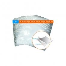 Sacs thermo rétractable permettant emballage sous-vide.