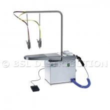 FEDRA COMPACT - Table de détachage à froid en Acier Inoxydable, Aspirante.