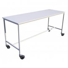 Table de tri et de pliage en bois mélaminé - 1 plateau.