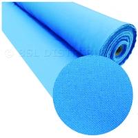 Tissu terylene bleu  clair polyester (vente au mètre)