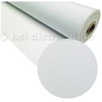 Tissu terylene blanc polyester (vente au mètre)