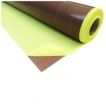 Tissu fibre de verre-ptfe autocollant beige (vente au mètre)