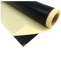 Tissu fibre de verre-ptfe antistatique autocollant noir (vente au mètre)