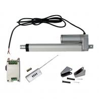 Vérin actionneur linéaire électrique (Kit complet) 400 mm 16