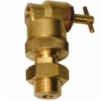 Cylindre de serrage avec robinet pour vanne vapeur