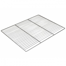 Grille inox GN2/1 simple - 650 x 530mm
