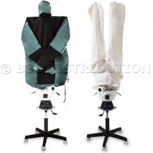 Mannequin de repassage SA05, chemise et pantalon.