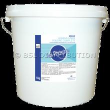 Poudre lessivielle complète PROF, blanchisserie industrielles et collectivités, 5 KG.