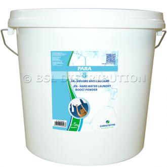 Poudre additive anti-calcaire PARA, seau 5 KG. CHRISTEYNS