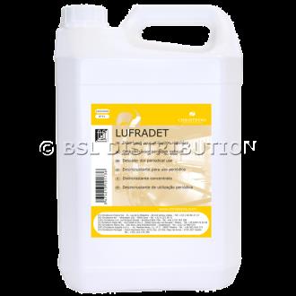 Détartrant liquide pour utilisation régulière LUFRADET, bidon de 5 L. CHRISTEYNS