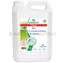 Détartrant liquide écologique GREEN'R CALC non moussant, 5 L.