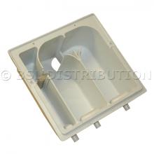 F200202201P IPSO Bac à lessive 3 compartiments