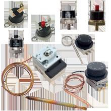 Thermorégulateur, Porte-sonde, Thermostat