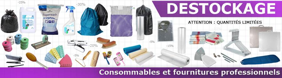 Consommables et fournitures professionnels - Déstockage