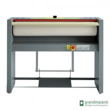 Grandimpianti S120/18 - Déstockage<br /> Repasseuse à rouleau 1200 x 180 mm Manuelle