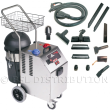 Générateur COMBI.3000 Nettoyeur/Aspirateur vapeur en acier inoxydable