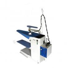 MILANO - Table à repasser professionnelle<br /> Aspirante, Chauffante + Soufflante.<br /> + Générateur vapeur 5 L