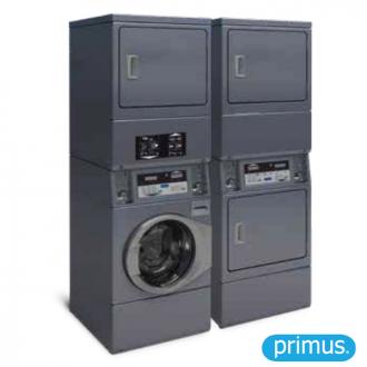 Colonne de lavage et séchage SPSC10 - SDSC10 (Version Laverie-Self)