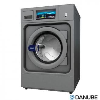 DANUBE WPR8 / WPR10 - Machine à laver professionnelle à cuve suspendue, super essorage (Déstockage).