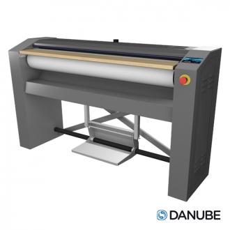 DANUBE R18 - Repasseuse à rouleau professionnelle, cylindre de 1000x180 mm Manuelle. (Déstockage)
