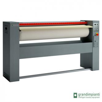GRANDIMPIANTI S120/25 - Repasseuse à rouleau professionnelle, cylindre de 1200x250 mm Automatique. (Déstockage)