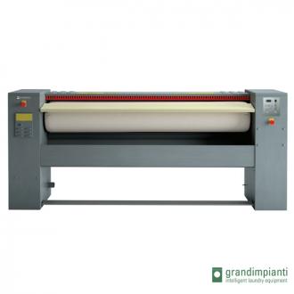 GRANDIMPIANTI S160/30 - Repasseuse à rouleau professionnelle, cylindre de 1600x300 mm Automatique. (Déstockage)