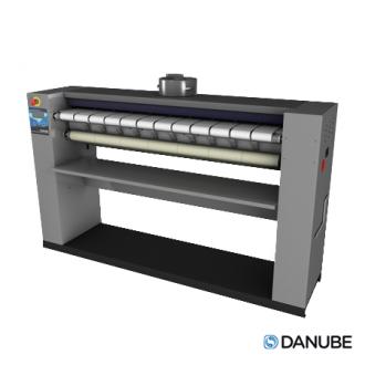 DANUBE MICRAII - Sécheuse repasseuse professionnelle, cylindre de 1400x200 mm Automatique.