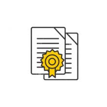 AGB/AGF - Certificat de calibrage pour Balance AGB et AGF.