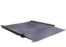 Plateforme de Pesage Professionnelle ACIER avec 1 Rampe incluse. Portée 150 à 3000kg. ( PLP Acier )