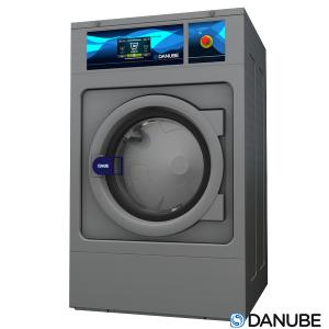 DANUBE WEN14 - Lave-linge industriel 13 à 14 KG Blanchisserie, fixe à sceller, à simple essorage.