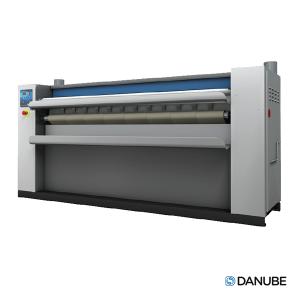 DANUBE DII/140 - Sécheuse repasseuse professionnelle, cylindre de 1400x325 mm Automatique. (Déstockage)