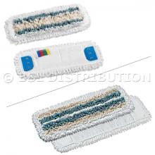 Frange Microfibre + Polyester + Coton, Avec Poches ou Languettes 3 trous.