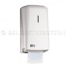 Distributeur papier toilette professionnel rouleau Ø120mm.