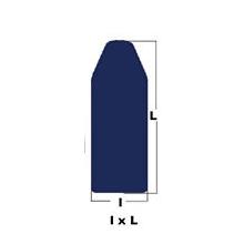 Housses rembourrées de tables à repasser (BL COMP) 460x1300x280mm