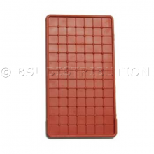 Repose fer à repasser en silicone rouge