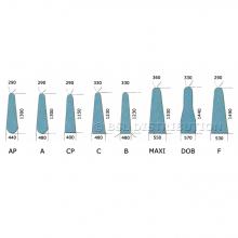 Housse table à repasser 65% Polyester 35% Coton, coloris vert ou bleu
