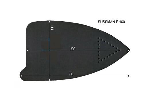 V.0070 SUSSMAN E 100 SEMELLE TEFLON FER A REPASSER RENFORCEE