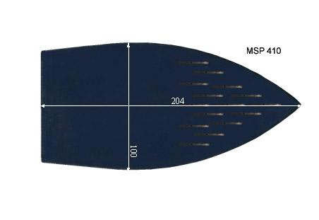 V.2550 MSP 410      SEMELLE TEFLON FER A REPASSER RENFORCEE