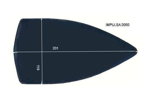 V.4700 IMPULSA 2050      SEMELLE TEFLON FER A REPASSER RENFORCEE