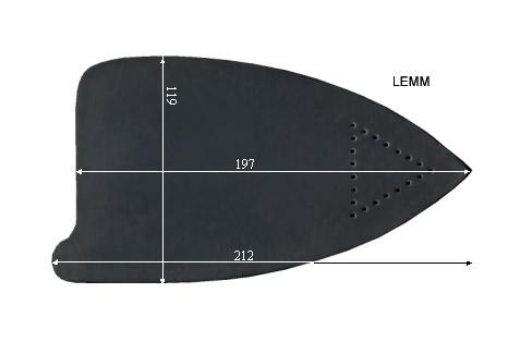 V.4850 LEMM      SEMELLE TEFLON FER A REPASSER RENFORCEE