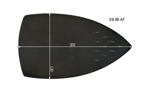 V.5400 ES 85 AF      SEMELLE TEFLON FER A REPASSER RENFORCEE