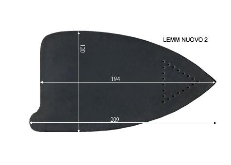 V.6950 LEMM NUOVO 2      SEMELLE TEFLON FER A REPASSER RENFORCEE