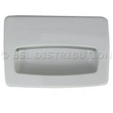 685715WP IPSO Poignée blanche bac à savon